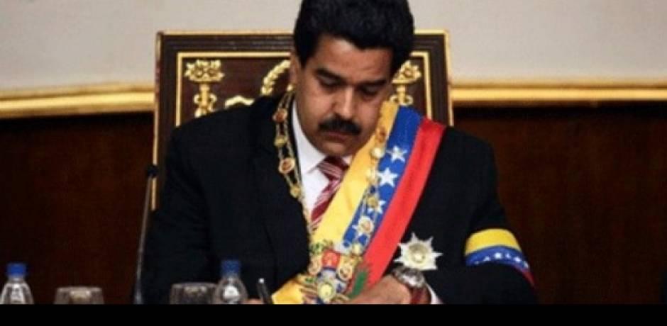 مادورو يعلن قطع فنزويلا علاقاتها الدبلوماسية مع الولايات المتحدة