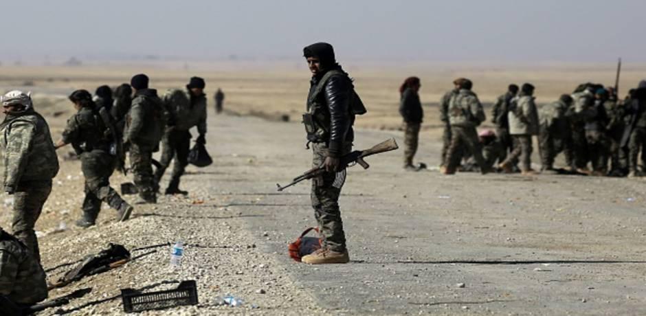 قوات سوريا الديموقراطية تطرد تنظيم الدولة الإسلامية من بلدة هجين في شرق البلاد