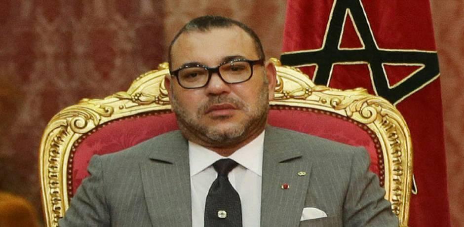 برقية تعزية ومواساة من العاهل المغربي إلى الرئيس الفرنسي على إثر حادث ستراسبورغ