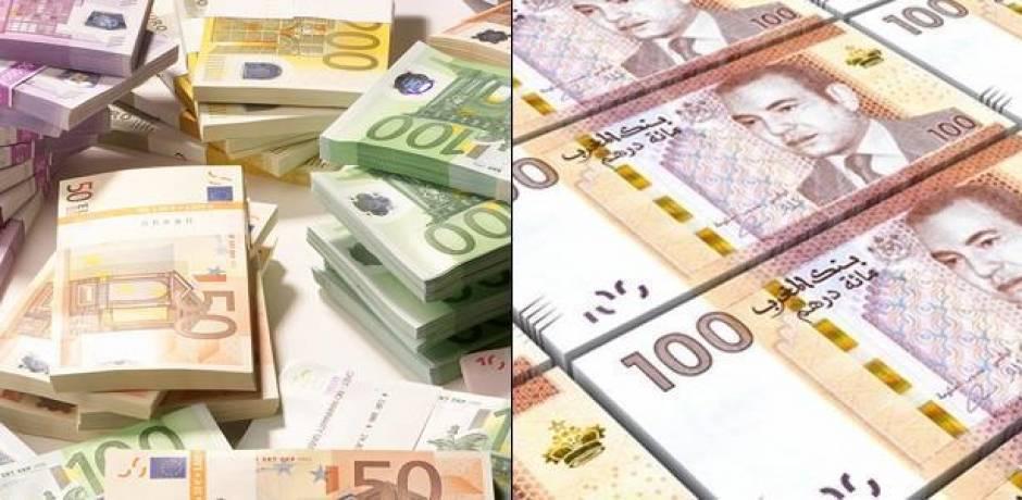 أسعار صرف العملات الأجنبية مقابل الدرهم الخميس 29 نونبر 2018