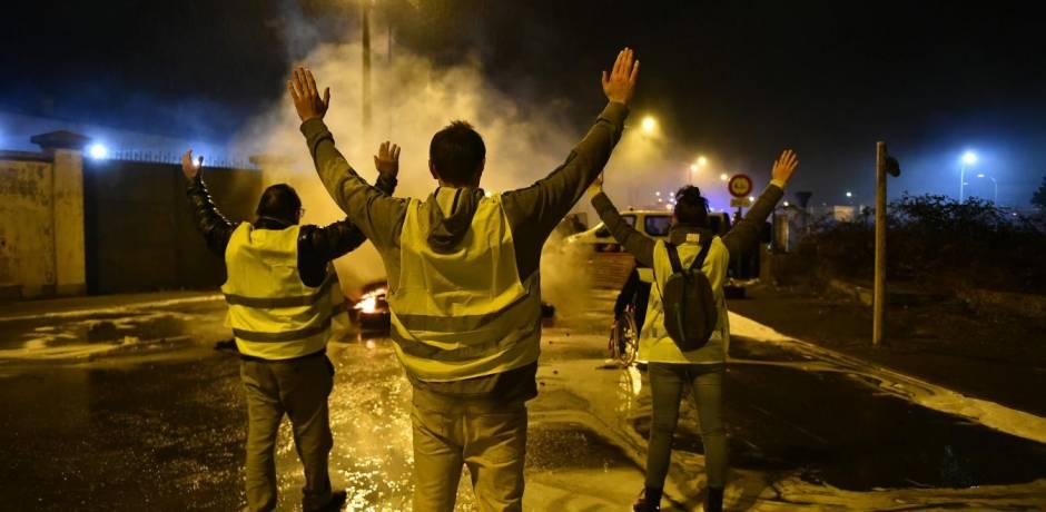 فرنسا..اعتقال ازيد من 107 شخصا واصابة 20 بجروح في صدامات بين الشرطة والمحتجين