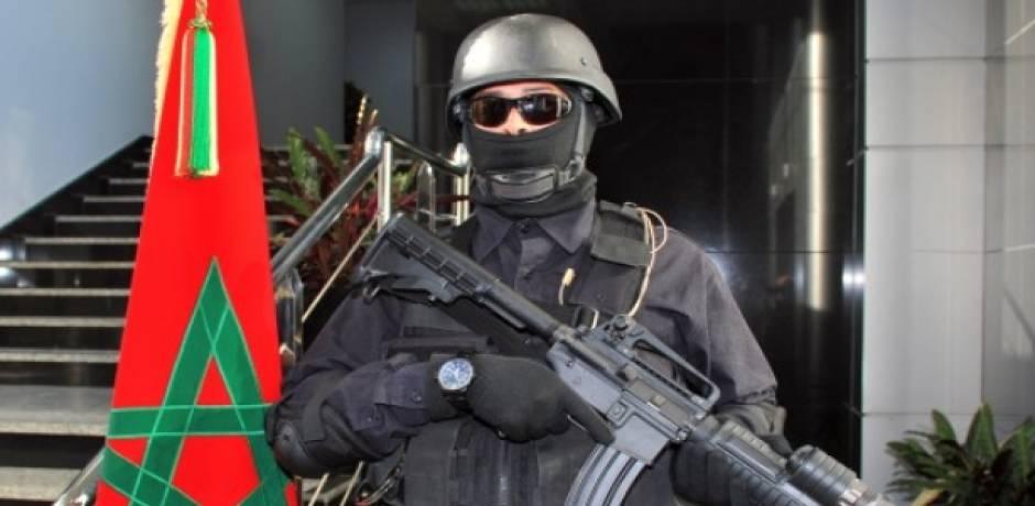"""Démantèlement à Béni Mellal d'une cellule terroriste composée de six individus présumés partisans de """"Daech"""""""