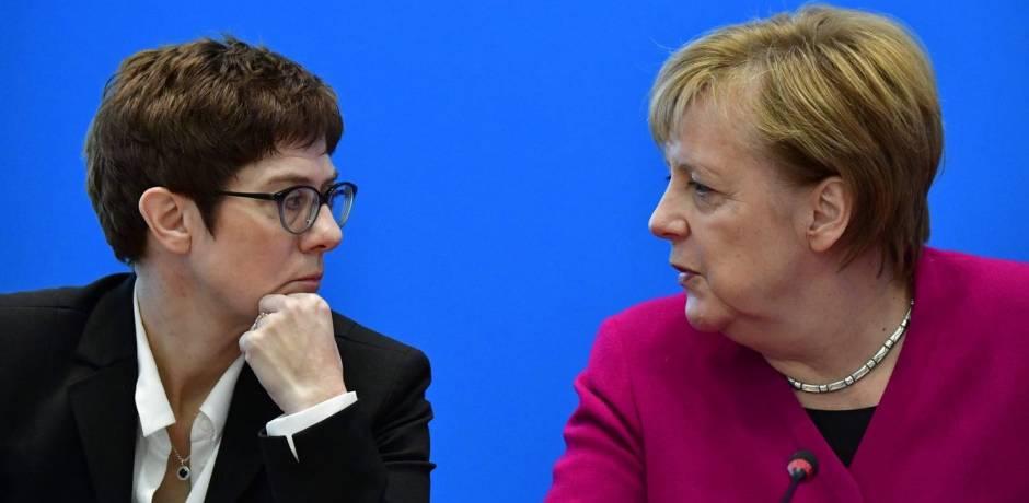 انتخاب كارينباور رئيسة للحزب المسيحي الديمقراطي خلفا لميركل