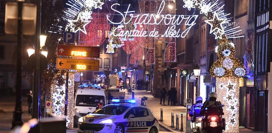 الشرطة الفرنسية تبحث عن منفذ الهجوم الذي أودى بحياة ثلاثة أشخاص في ستراسبورغ