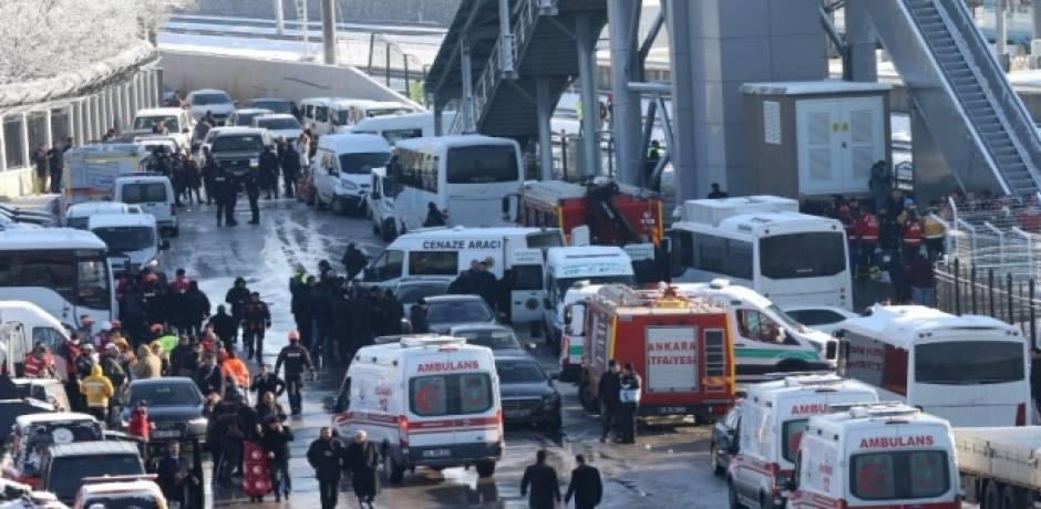 تركيا..سبعة قتلى و46 جريحا في حادث قطار أنقرة