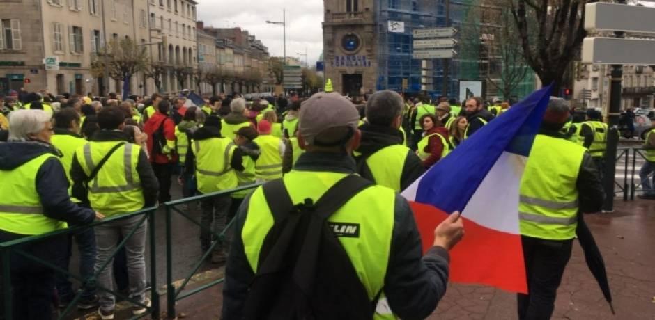 """تجمّعات خجولة """"للسترات الصفراء"""" في الاسبوع السابع للتحرك في فرنسا"""
