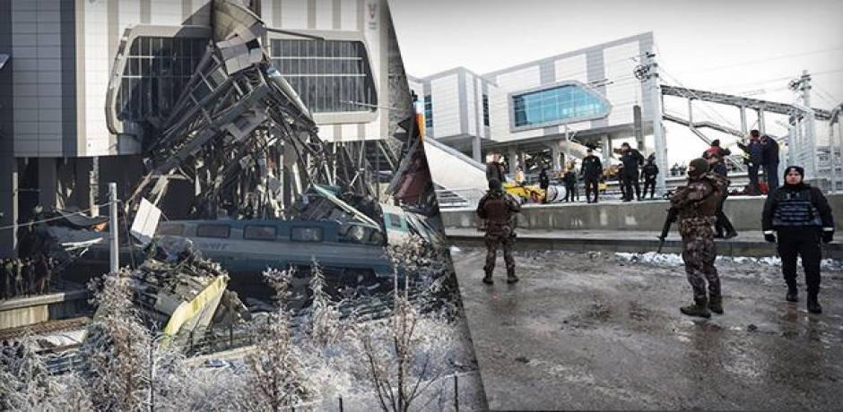 توقيف ثلاثة موظفين على خلفية حادث القطار السريع بأنقرة وارتفاع حصيلة الضحايا إلى 9 قتلى