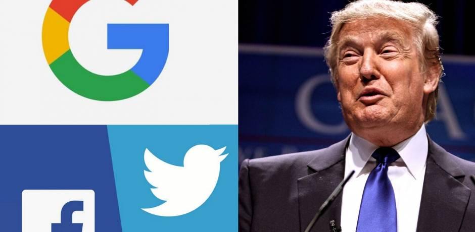 ترامب يتهم فيسبوك وتويتر وغوغل بالتحيز للديموقراطيين
