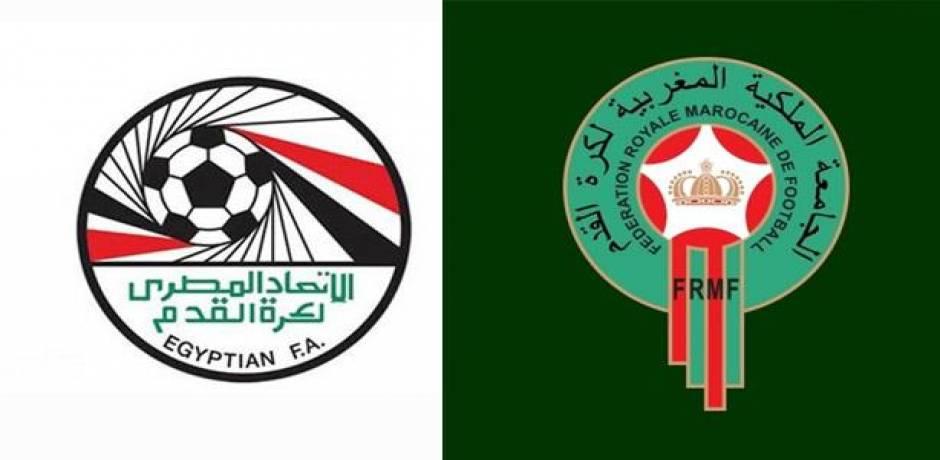طاقم تحكيم مغربي يقود مباراة في الدوري المصري