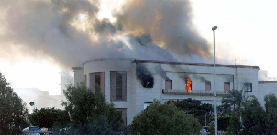 قتيل وتسعة جرحى في هجوم على مقر وزارة الخارجية الليبية في طرابلس