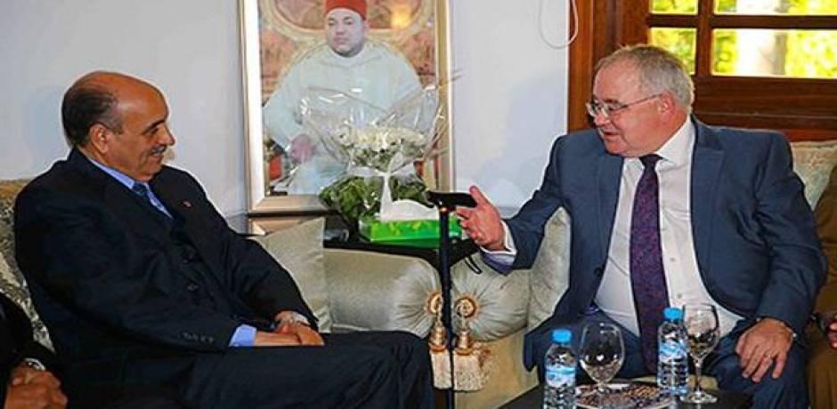 تطورات قضية الصحراء المغربية محور مباحثات بين ولد الرشيد ورئيس مجلس النواب الإيرلندي