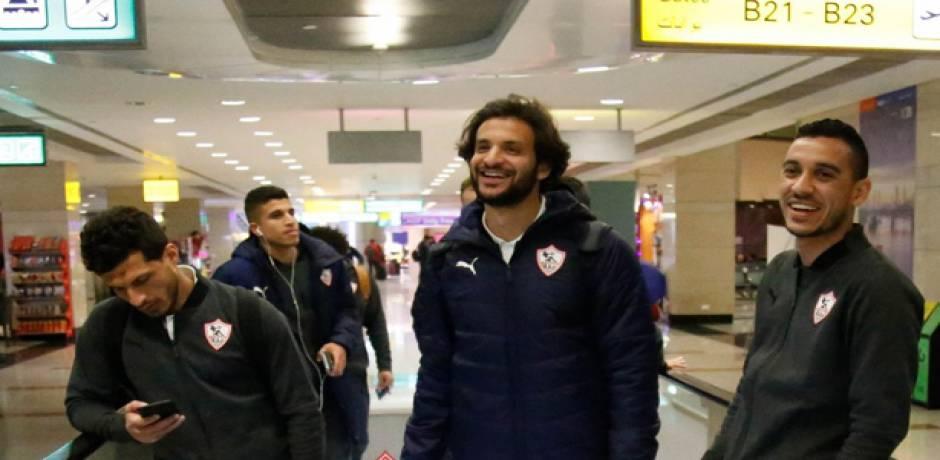 """الزمالك يصل إلى المغرب ويعلن قائمته لمباراة اتحاد طنجة في كأس """"الكاف"""""""