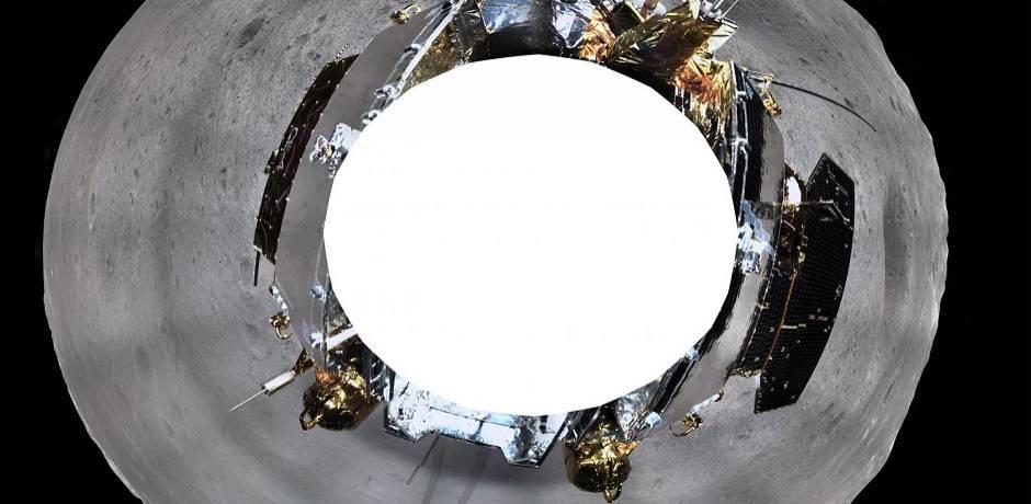 Face cachée de la Lune: la Chine publie une photo à 360 degrés