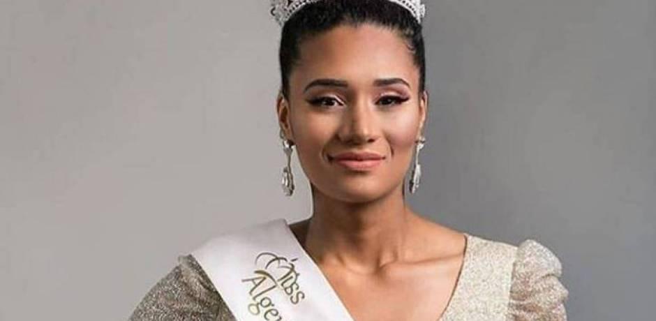 جدل حول ملكة جمال الجزائر.. والسبب لون بشرتها