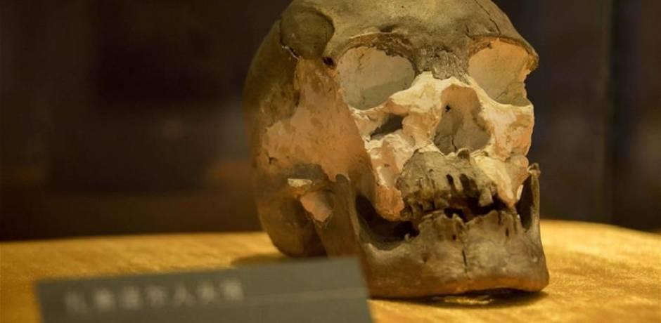 صينيون يؤكدون أن تاريخ الجمجمة البشرية المكتشفة مؤخرا يعود لنحو 10 آلاف سنة