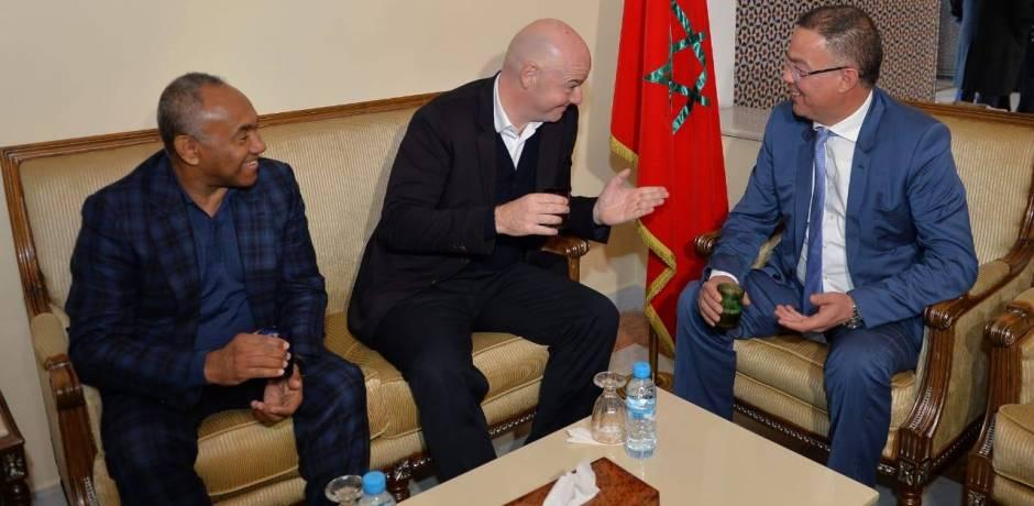 إنفانتينو في مراكش للمشاركة في مؤتمر الفيفا لتطوير منظومة كرة القدم
