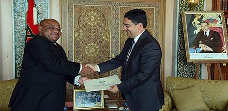 بوريطة يستقبل مبعوثا للرئيس القمري حاملا رسالة إلى الملك محمد السادس