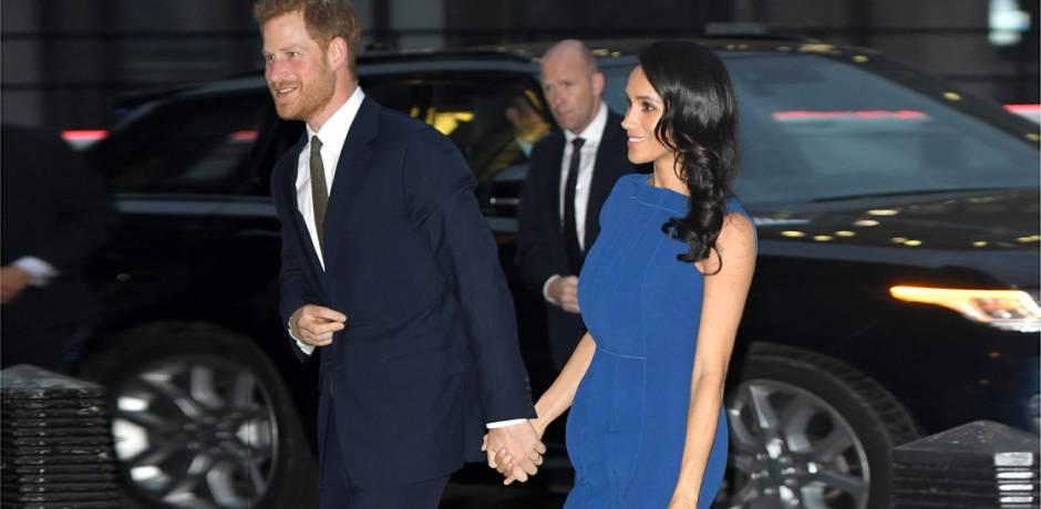 زوجة الأمير هاري تكشف أنها حامل في الشهر السادس
