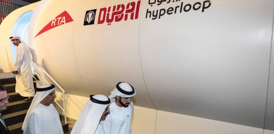 الإمارات تنهي في 2020 المرحلة الأولى من بناء نظام هايبرلوب للنقل