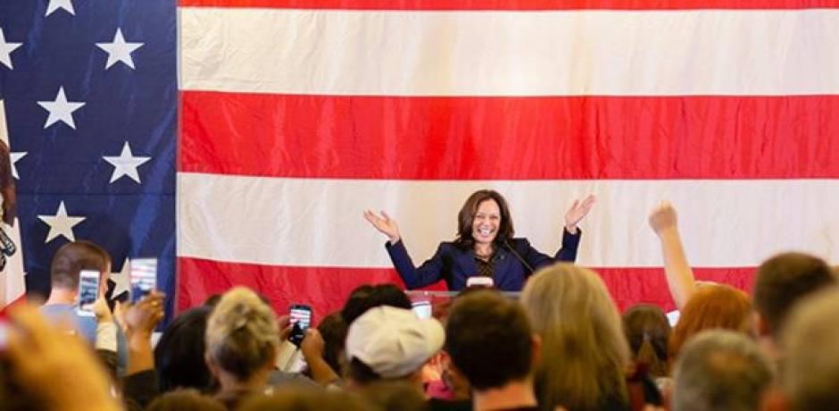 السيناتورة الديمقراطية كمالا هاريس تعلن ترشحها للرئاسة الأمريكية
