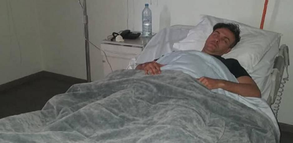 أول تدوينة لحاتم إدار بعد حادثة سير خطيرة