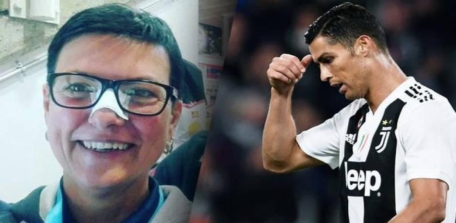 رونالدو يعتذر لمشجعة تسبب في إصابتها على مستوى الأنف