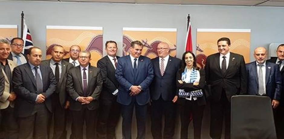 أخنوش يتباحث مع وزيرين بولاية جنوب أستراليا حول التعاون الثنائي وسبل تطويره