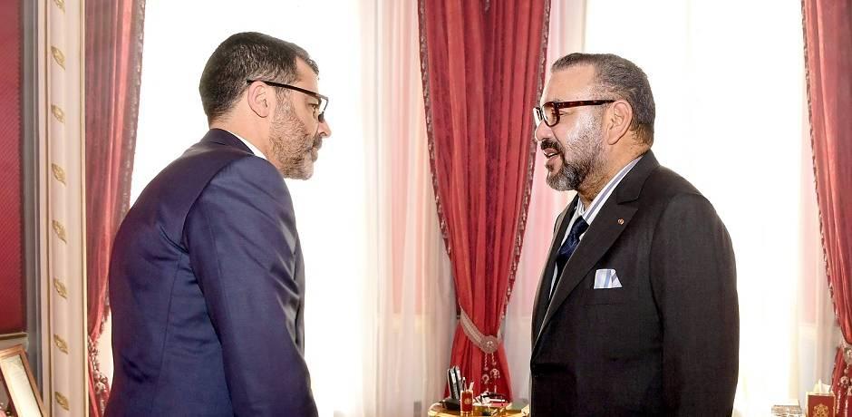 الملك محمد السادس يستقبل المدير العام الجديد لصندوق إثمار الموارد