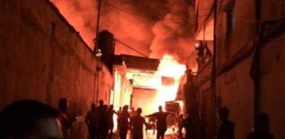 17 قتيلا في حريق بفندق في نيودلهي