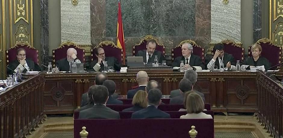 Début à Madrid du procès des ex-responsables séparatistes catalans