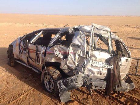 مصرع 13 شخصا في حادثة سير جنوب طرابلس