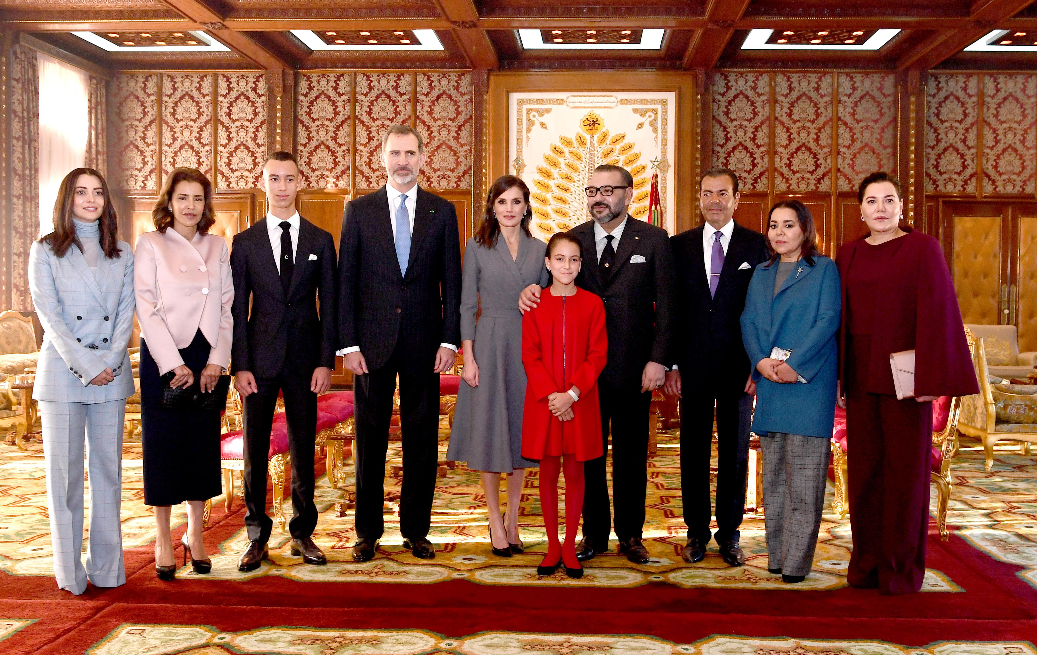 العاهل الإسباني الملك فيليبي السادس والملكة ليتيثيا يغادران المغرب في ختام زيارة رسمية