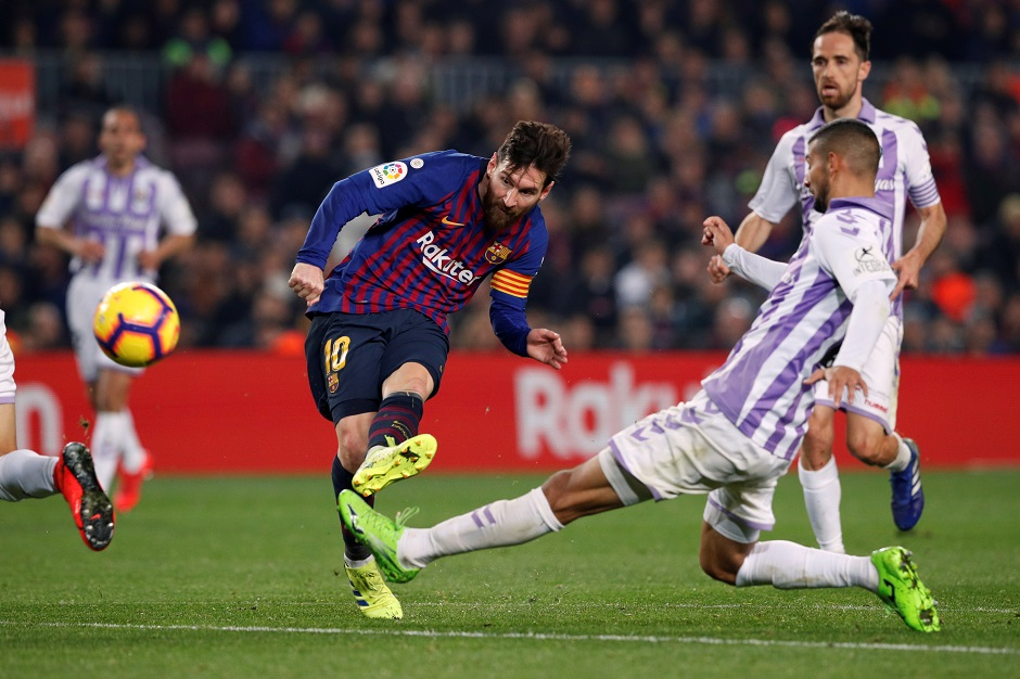 رقم مميز لميسي رغم الأداء الباهت لبرشلونة