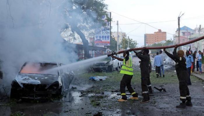11 قتيلاً و16 جريحاً جراء تفجير هائل في الصومال