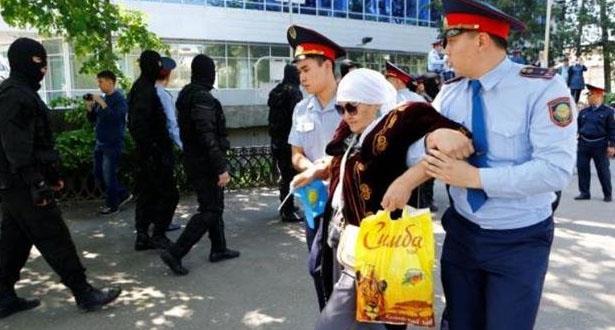 إعتقالات خلال تظاهرة ضد تغيير اسم العاصمة في كازاخستان