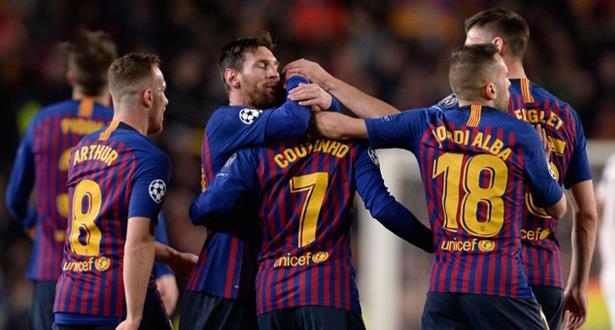 رغم التأهل إلى نصف نهائي أبطال أوروبا .. ميسي يحذر برشلونة
