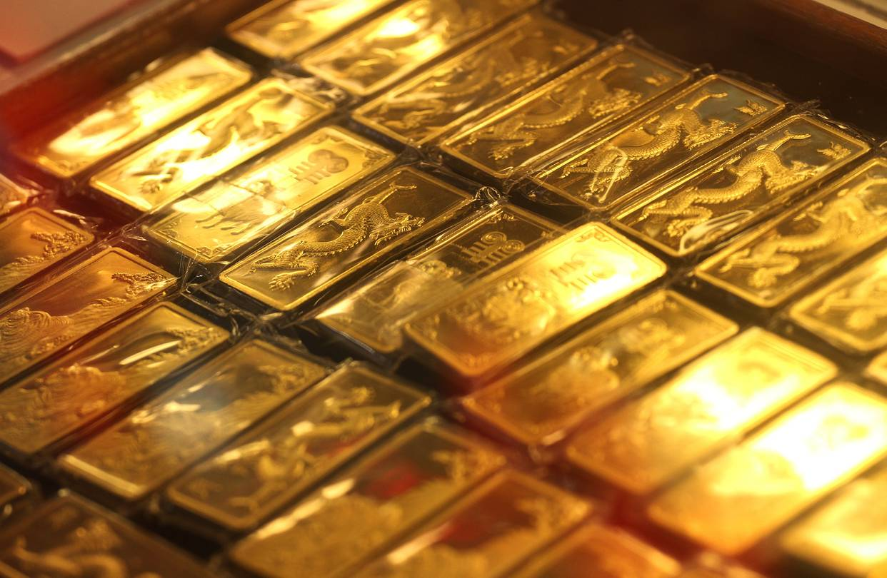 احتياطات روسيا من الذهب تصل الى أزيد من 2217 طن