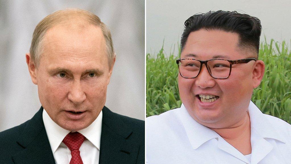 """""""الكرملين"""" يعلن موعد لقاء بوتين والزعيم الكوري الشمالي"""