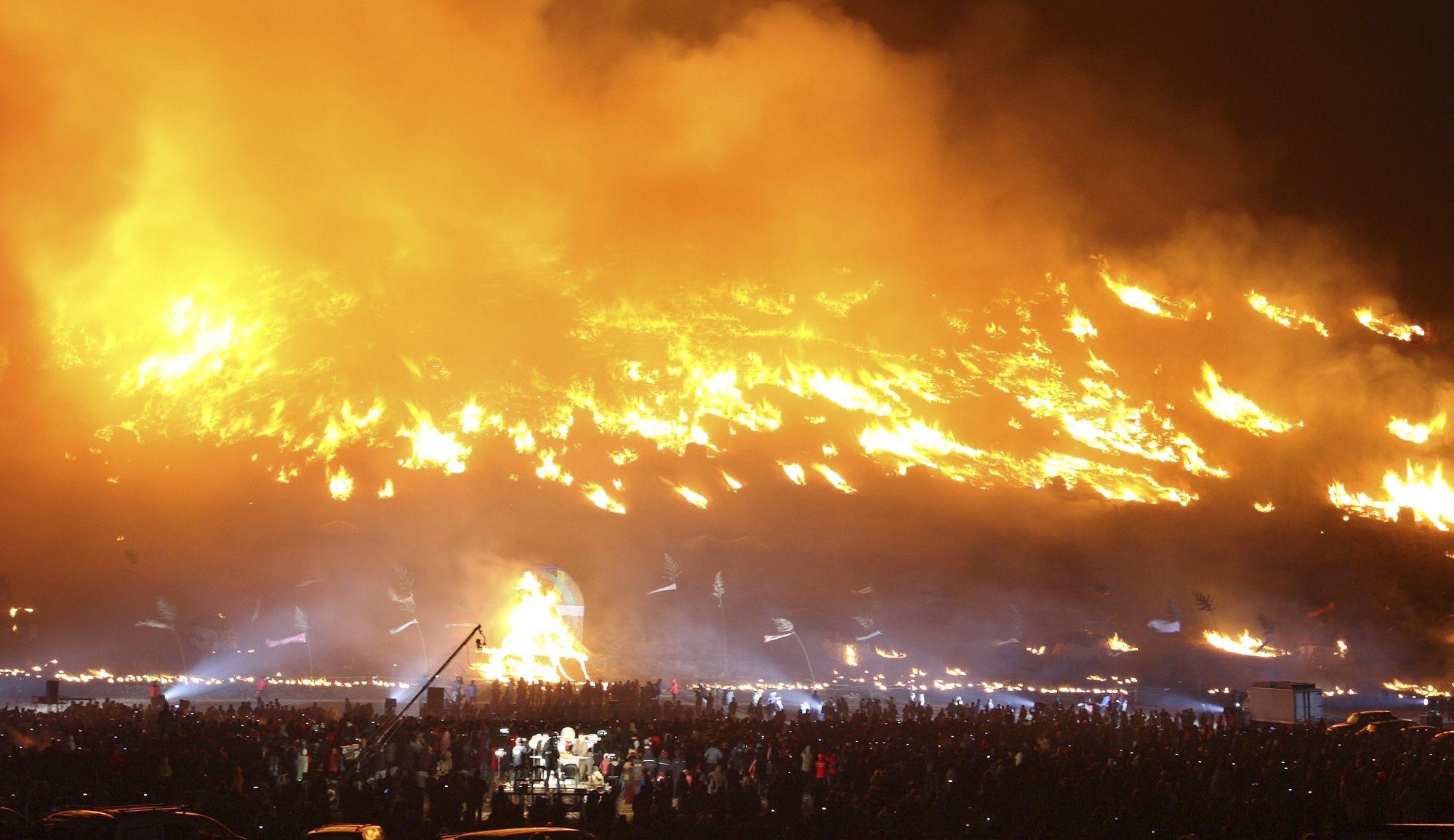كوريا الجنوبية.. حريق يتسبب في تدمير 530 هكتارا من الغابات وتشريد 800 مواطنا