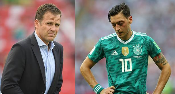 مدير المنتخب الألماني يقر بارتكاب أخطاء في قضية أوزيل