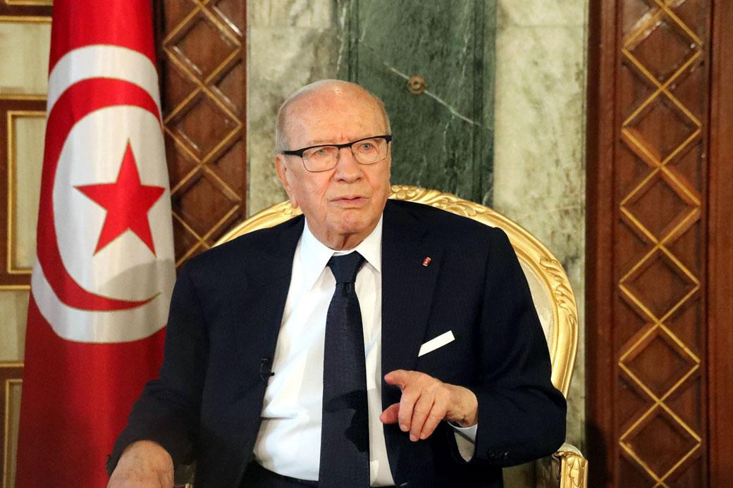 الرئيس التونسي يعلن عدم ترشحه للانتخابات الرئاسية المقبلة