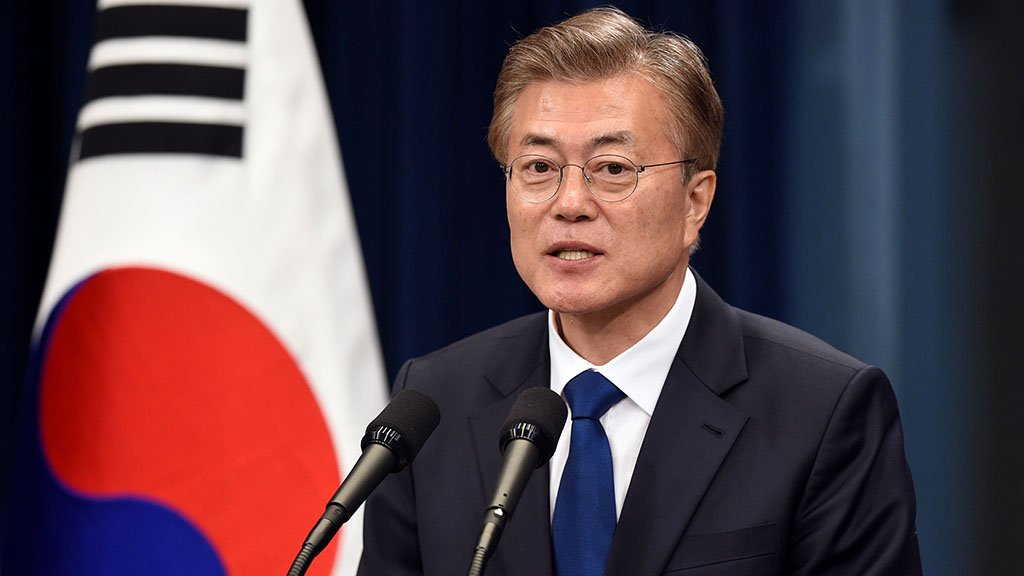 رئيس كوريا الجنوبية مستعد لعقد قمة رابعة مع كيم جونغ اون
