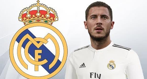 رسميا .. هازارد إلى ريال مدريد