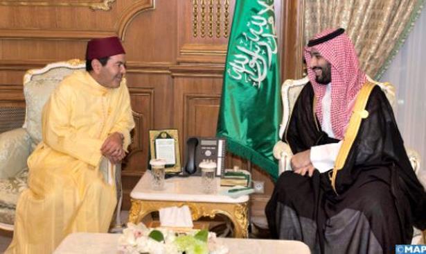 الأمير مولاي رشيد يلتقي بولي العهد السعودي على هامش القمة الإسلامية بمكة المكرمة