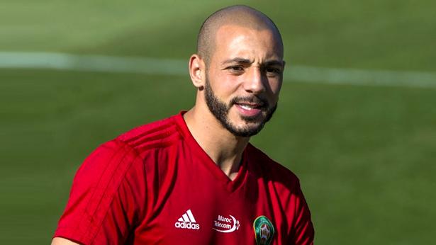 أمرابط يؤكد فخره لتمثيل المغرب ويوجه رسالة لجمهوري طنجة ووجدة