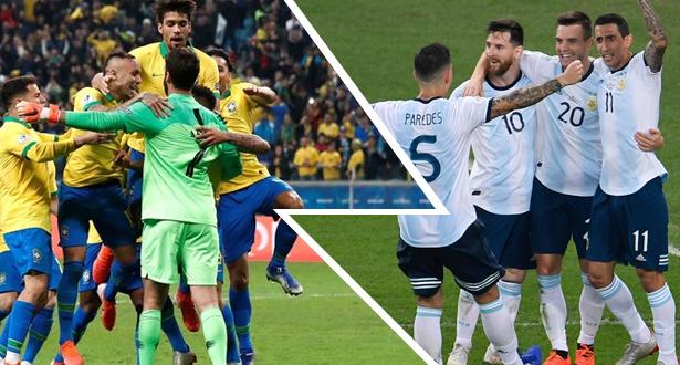 كوبا أمريكا .. الأرجنتين إلى المربع الذهبي والبرازيل في الانتظار