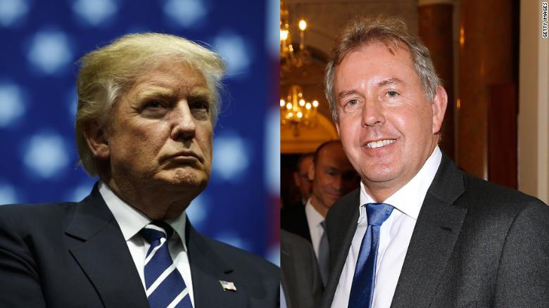 استقالة سفير بريطانيا في واشنطن بعد الجدل الذي أثير مع ترامب