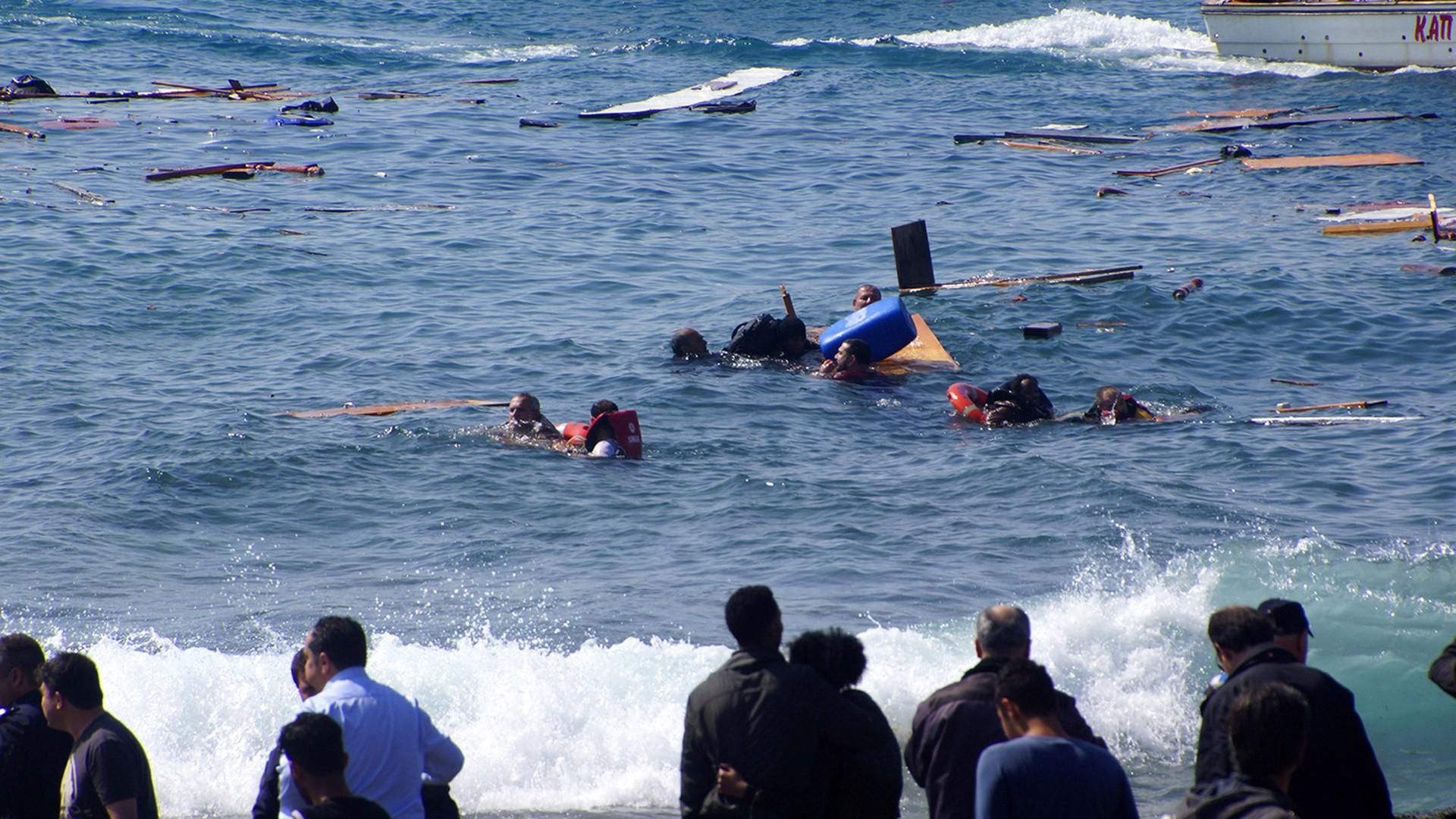 غرق 155 مهاجرا قبالة سواحل ليبيا