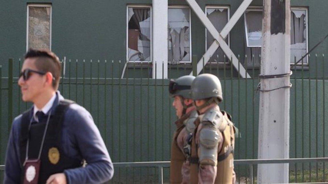 إعتداء بمتفجرات في مفوضية تشيلية للشرطة يسفر عن ثمانية جرحى