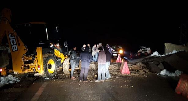 إنهيارات صخرية وسيول تخلف ضحايا بمنطقة الحوز